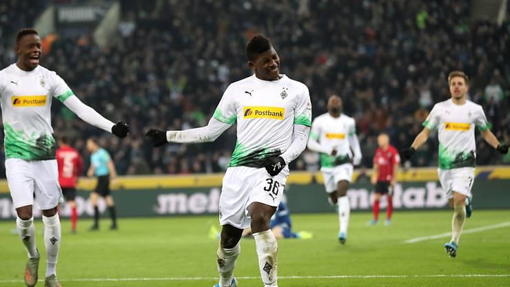 Breel Embolo ist einer von vier Schweizer, die die Borussia derzeit rocken