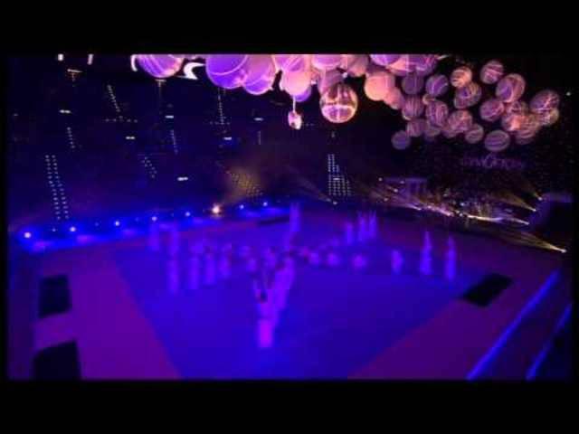 Gymotion 2014: Die Damenrige Bözen zusammen mit dem Damenturnverein Oberrüti im Zürcher Hallenstadion