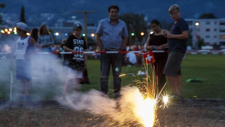 Die grosse Trockenheit macht Feuerwerk am 1. August zu gefährlich.