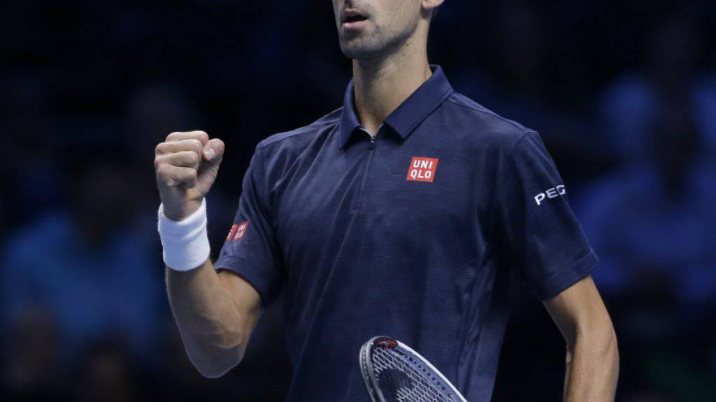 Novak Djokovic hofft weiter, die Saison als Nummer 1 der Welt zu beenden