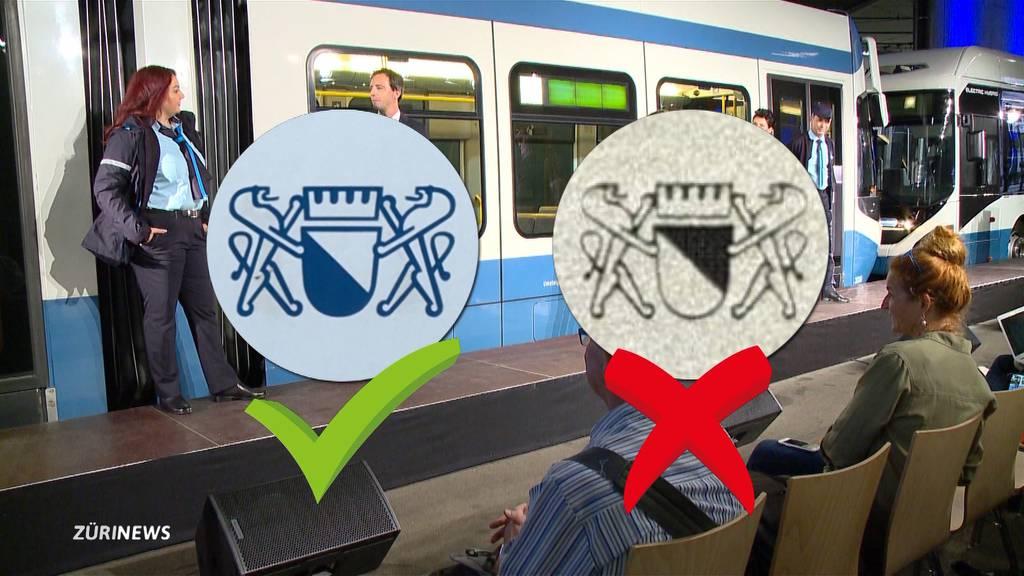 Neue Uniformen der VBZ tragen falsches Wappen