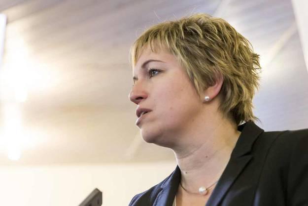 Jetzt erst recht, so könnte man die Devise von SP-Nationalrätin Valérie Piller Carrard umschreiben.