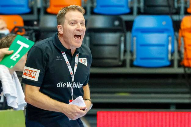Nationaltrainer Michael Suter: Er lebt Handball.