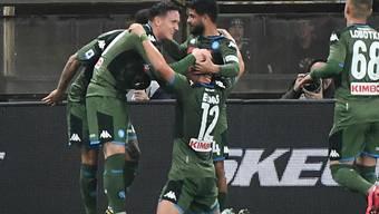 Erfolgreicher Abend: Napoli gewann bei Sampdoria Genua 4:2