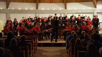 Die Musikschule Aaregäu und Kirchenchor Wolfwil boten dem Publikum in der Kirche ein abwechslungsreiches Programm.