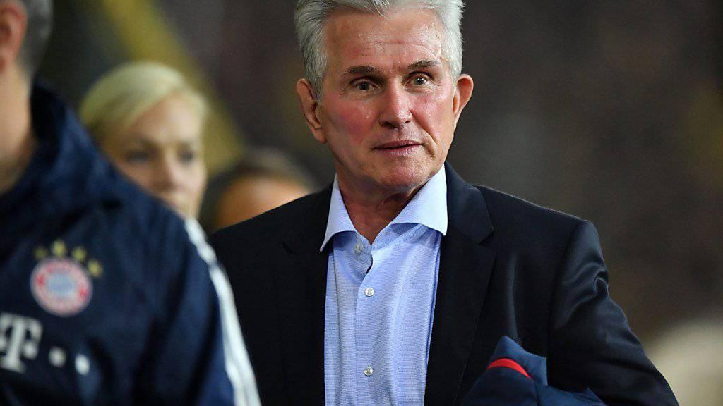 Überragende Bilanz seit seiner Rückkehr auf die Trainer-Bank des FC Bayern: Jupp Heynckes