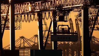Die Corona-Folgen bremsen die Wirtschaft in der Euro-Zone aus. (Archiv)