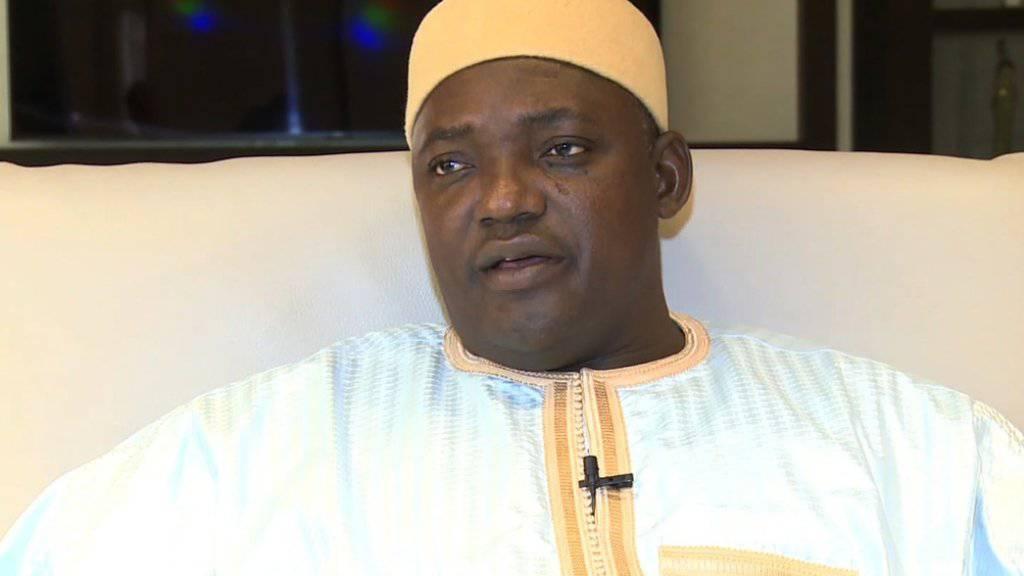 Muss er mit leeren Händen regieren? Adama Barrow übernimmt in Gambia die Präsidentschaft von Yahya Jammeh.