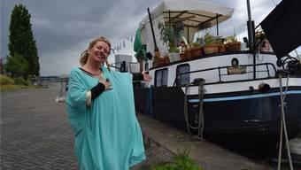 Im Mai lag Anmari Wili mit «Lorin» am Klybeckquai – nach einem Zwischenstopp in Grenzach-Wyhlen ist sie nun wieder auf der Suche nach einem Liegeplatz. (Archiv)