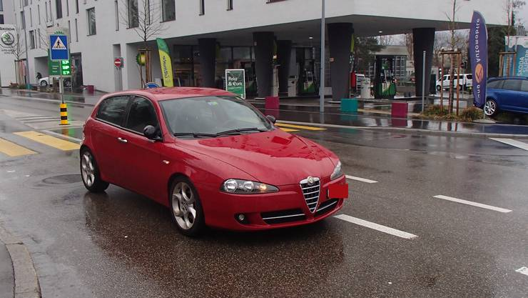 Dieser Alfa Romeo erfasste das 7-Jährige Kind.