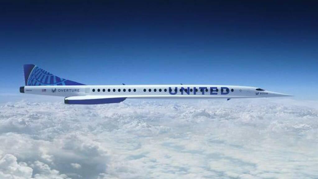 Die Concorde-ähnliche Overture soll doppelt so schnell fliegen wie die derzeit schnellsten Linienmaschinen.