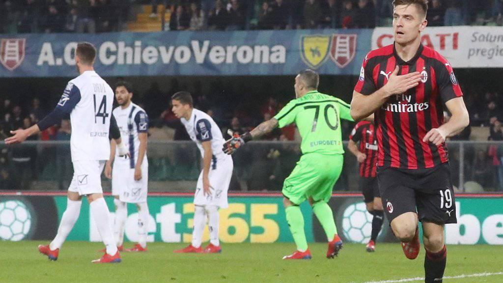 Goalgetter Piatek führt Milan zum Sieg