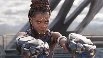 """Letitia Wright als Shuri in der Verfilmung des Comics """"Black Panther"""". Jetzt soll die Figur der Shuri auch einen eigenen Comic erhalten. (Pressebild)"""