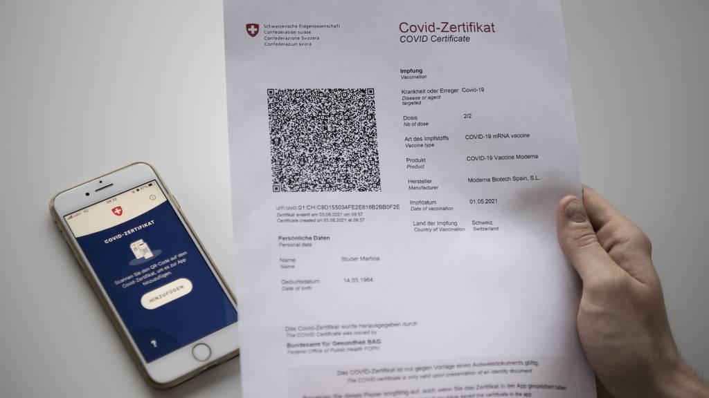 Bald nur noch mit Covid-Zertifikat ins Restaurant?