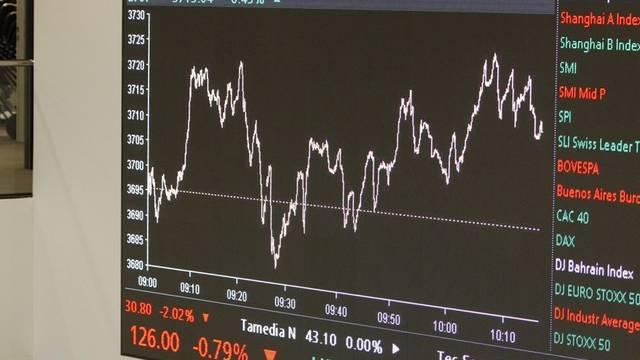 Die Börsen-Turbulenzen lassen den Deckungsgrad bei den Pensionskassen schrumpfen (Archiv)