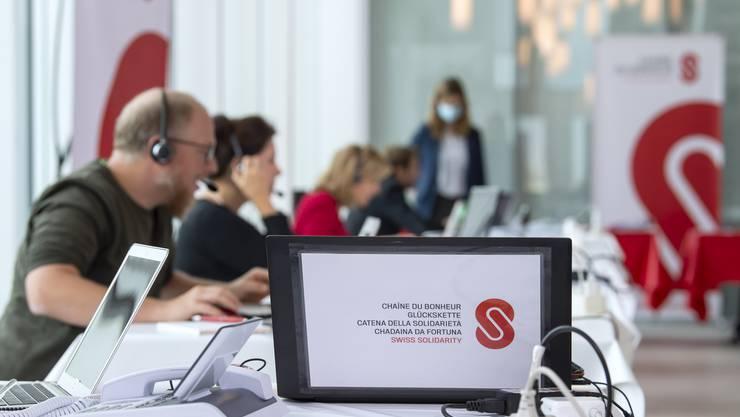Mehr als vier Millionen Franken an Spenden konnte die Glückskette nach dem nationalen Solidaritätstag «Coronavirus International» verzeichnen.