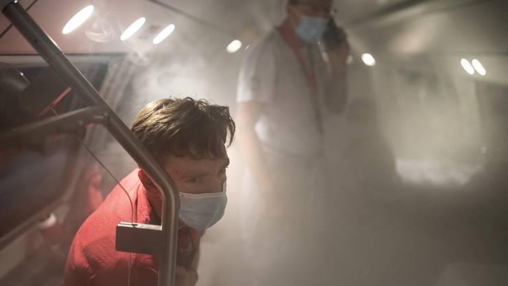 Am Mittwoch hat die Rettungsübung «Bellawerde» im Eppenbergtunnel stattgefunden.