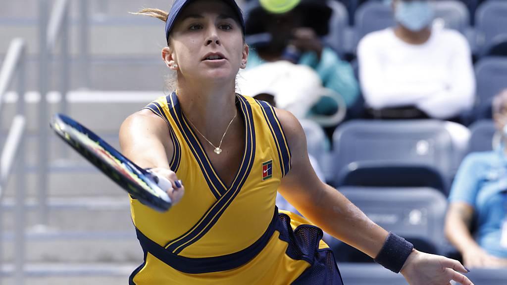 Belinda Bencic musste sich nicht sonderlich strecken, um gegen Arantxa Rus zu bestehen