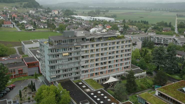 RehaClinic in Bad Zurzach, im Bild das Bettenhaus