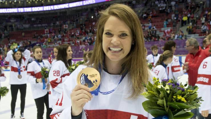 Florence Schelling gewann 2014 Bronze an der Olympia.