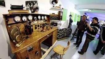 Sonderausstellung «100 Jahre Radiotechnologie» im Solothurner Enter-Museum
