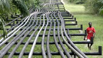 Erdöl-Pipelines in Nigeria.
