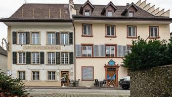 Im Erdgeschoss des Gasthofs in Bad Zurzach entstehen zwei neue Wohnungen.
