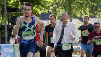 Daniel Koch gegen Julien Wanders.