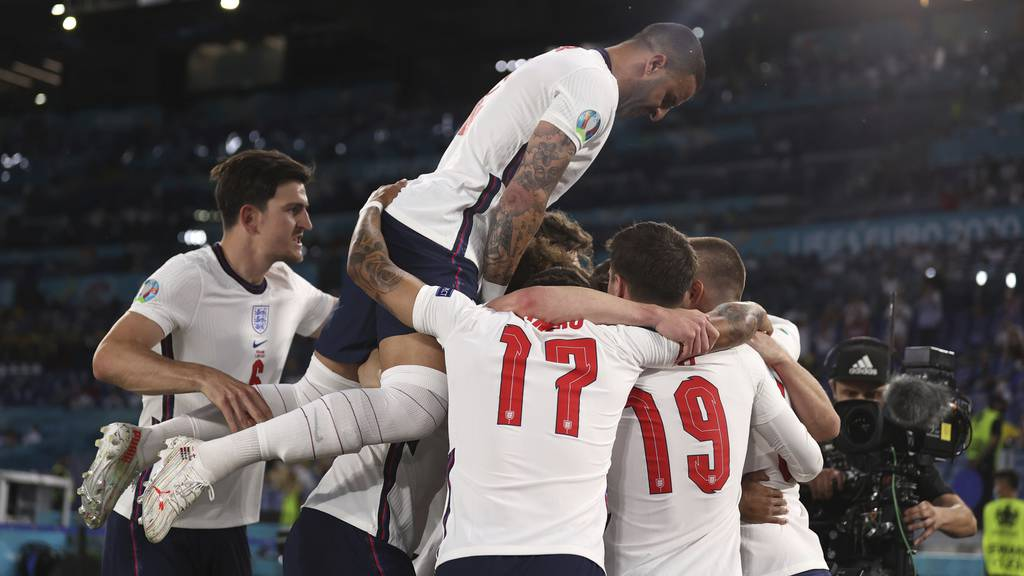 England zieht mit 4:0 gegen Ukraine in den Halbfinal ein
