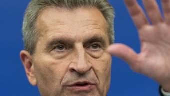 Loses Mundwerk: Der deutsche EU-Kommissar Günther Oettinger.
