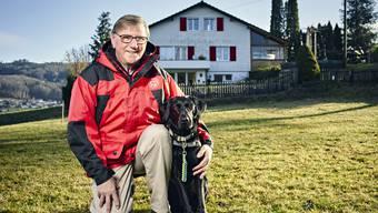 Peter Bieri und Siena sind die amtierenden Schweizer Meister im Bereich «Sanitätshunde».