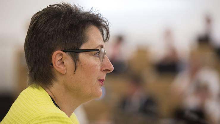 Gesundheitsdirektorin Franziska Roth (SVP) sagte, die Prämienverbilligung sei eine zentrale Frage mit grosser Tragweite für die Bürger des unteren Mittelstandes.