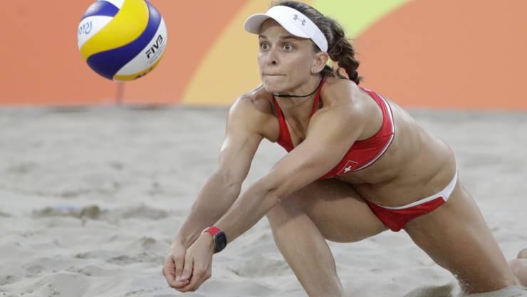 Nach elf Jahren Beachvolleyball bestritt Nadine Zumkehr mit dem Final in Toronto ihr letztes Spiel