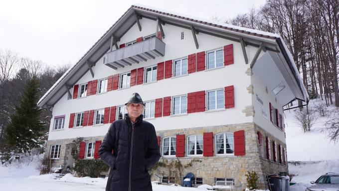 Das Tannenheim wurde zum Lebensinhalt von Ernst Ryf.