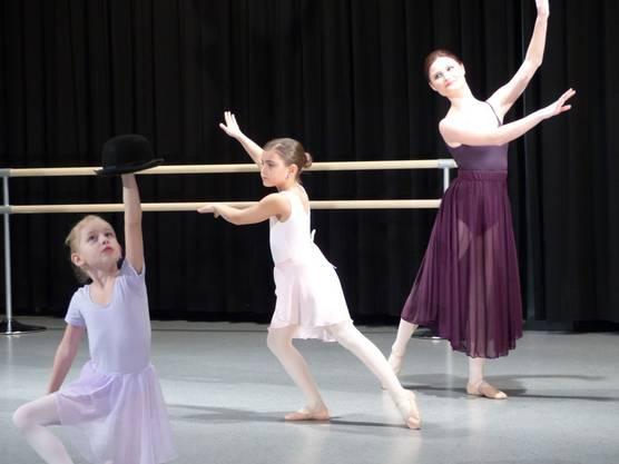 Graziöse Ballettvorführung in Laufenburg