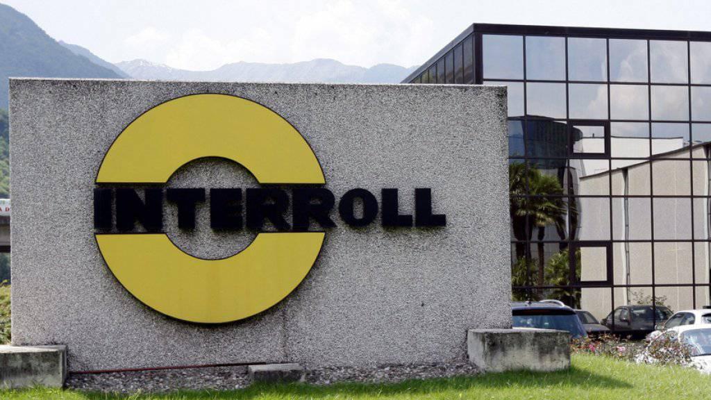 Der Hauptsitz von Interroll in St. Antonino im Tessin. Die Gruppe beschäftigt weltweit 1900 Mitarbeitende.