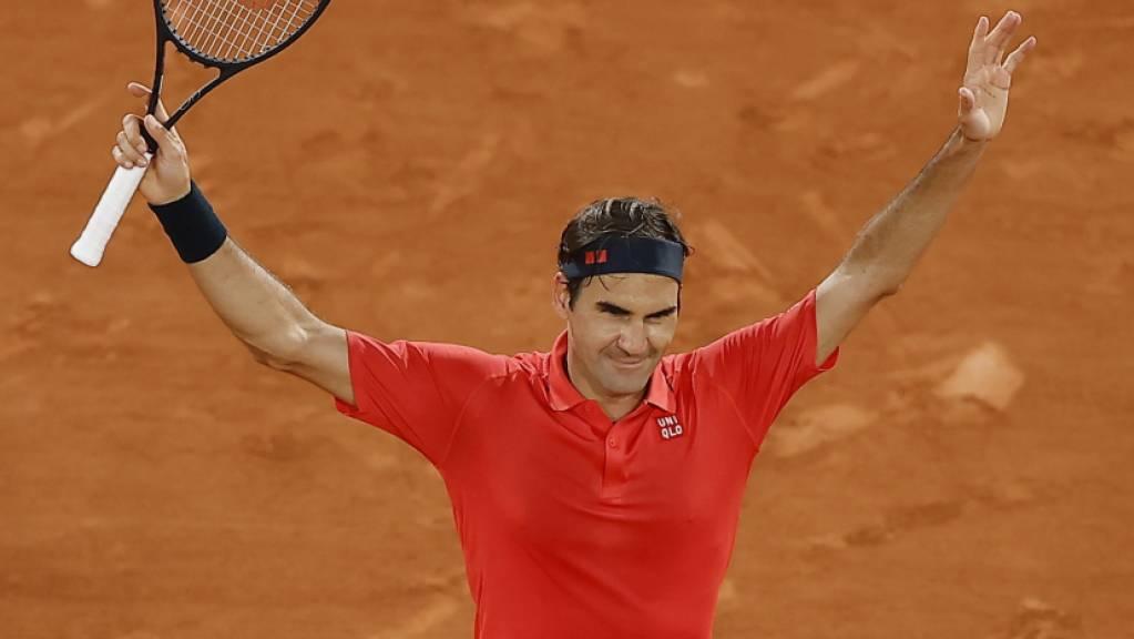 Begeisterte mit Sieg und erschreckt nun mit seinem Forfait: Roger Federer in Paris.