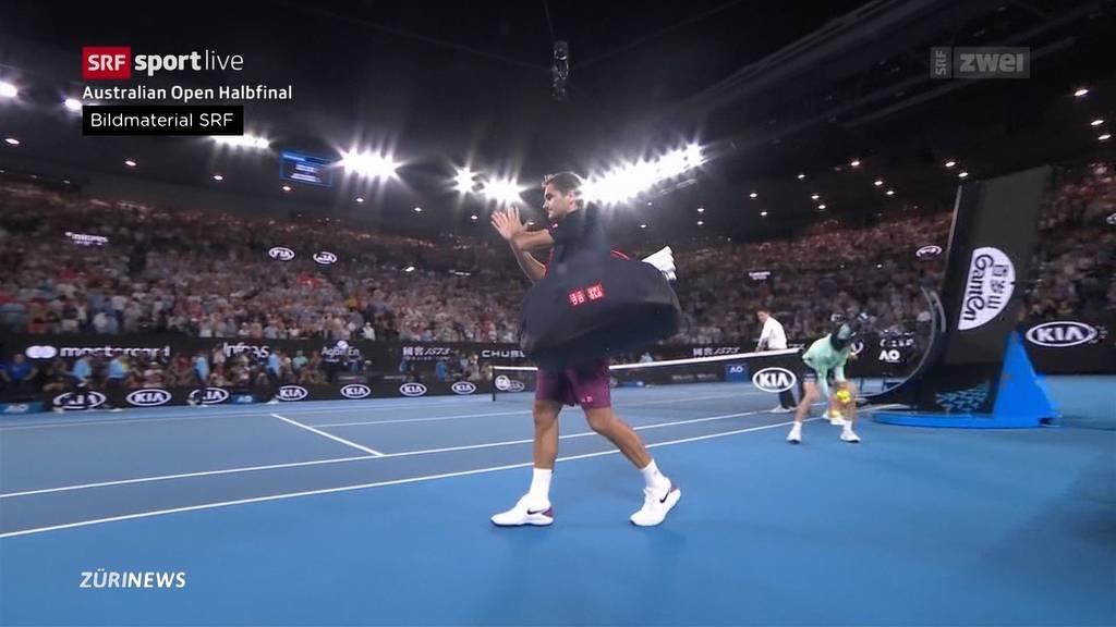 Angeschlagener Federer unterliegt Djokovic an den Australian Open