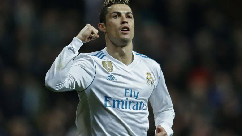 Cristiano Ronaldo glänzt als Dreifachtorschütze.