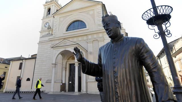 Infolge des Erdbebens wurden in Norditalien Kirchen geschlossen