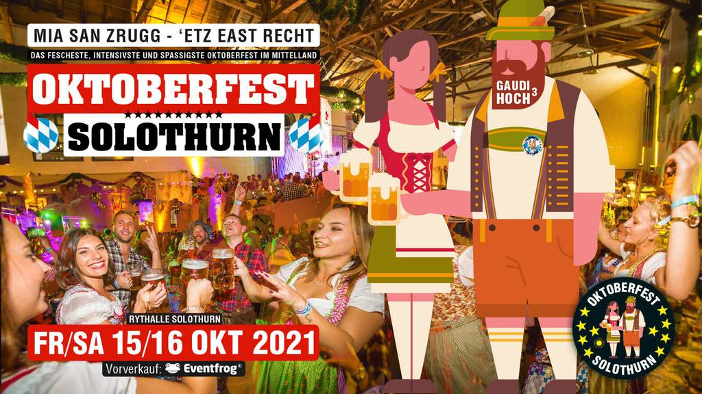 Oktoberfest Solothurn - Tisch gewinnen!