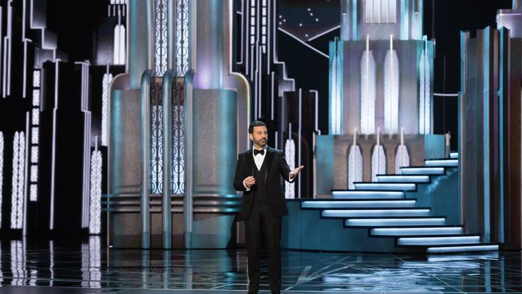 Der berühmte US-Talkshow-Moderator Jimmy Kimmel begleitete die Zuschauer der 89. Academy Awards durch den Abend.