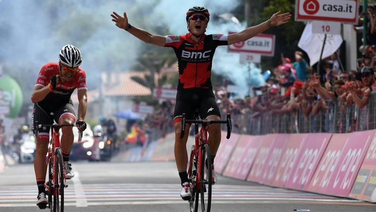 Silvan Dillier gewann die sechste Etappe des Giro d'Italia.