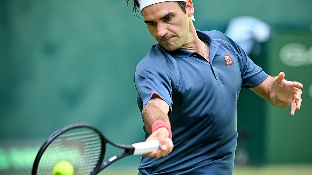 Keine einfache Aufgabe zum Start ins Turnier: Roger Federer trifft in Wimbledon in der 1. Runde auf den Linkshänder Adrian Mannarino