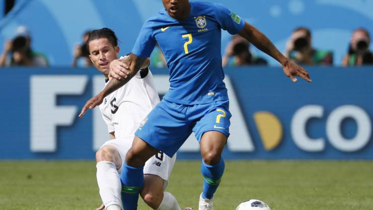 Douglas Costa leidet an einer Oberschenkelverletzung