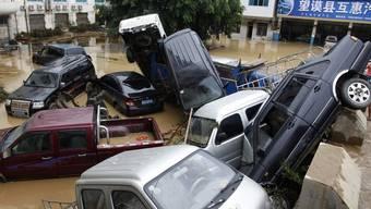 Der Regen brachte China Tod und Verwüstung