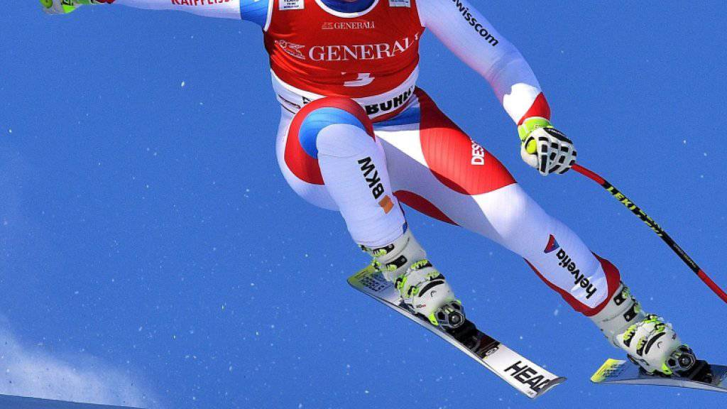 Nur 0,44 Sekunden fehlten ihm zum Sieg im Weltcup-Super-G in Kitzbühel: Beat Feuz