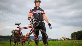 Martin Guggenbühl ist an der Suhrgasse in Oberentfelden einmal mehr fündig geworden.Pascal Meier