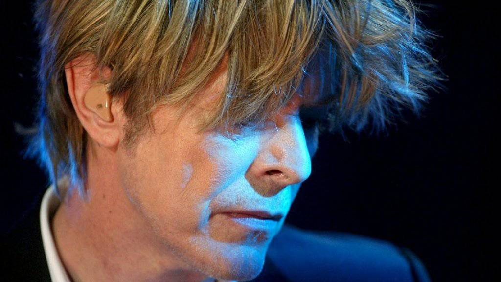 David Bowies letztes Album «Blackstar» feiert den erwarteten Erfolg (Archiv)