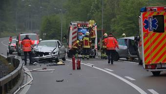 Frontalkollision in Frauenfeld: Motorradfahrer kommt ums Leben.